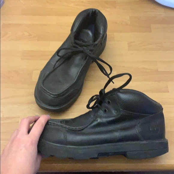 Timberland Shoes | Black Low Boots